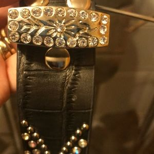 Accessories - Leather bling belt